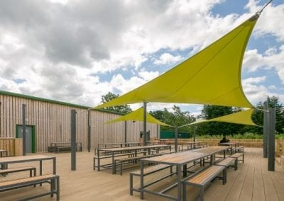 Chobham Adventure Farm Shade Sail