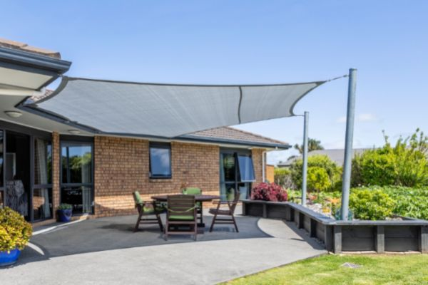 Garden Grey Shade Sail